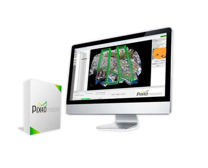Software de procesamiento de imagenes PIX4D
